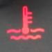 Car temperature symbol