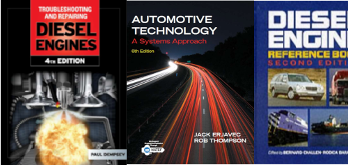Best books for Diesel mechanic, technician, engineer and researcher